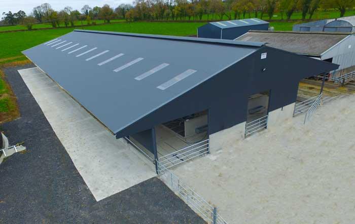 O'Dwyer Steel- Dairy Unit Tipperary